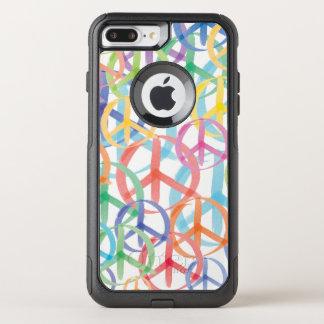 Peace Signs Symbols OtterBox Commuter iPhone 8 Plus/7 Plus Case