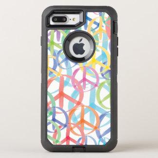 Peace Signs Symbols OtterBox Defender iPhone 8 Plus/7 Plus Case