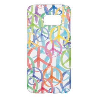 Peace Signs Symbols Samsung Galaxy S7 Case