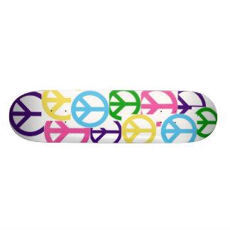peace! skate deck
