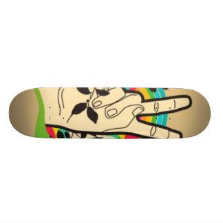 peace skateboard