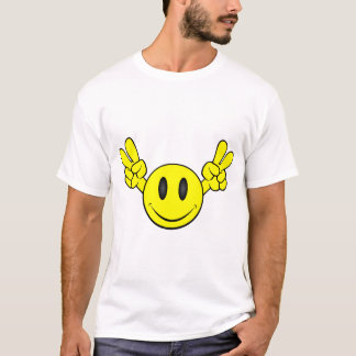 Peace Smiley Face T-Shirt