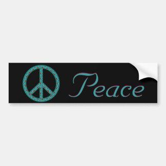 Peace Southwest Blk2 Bumper Sticker