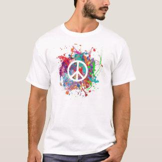 Peace Splatter T-Shirt