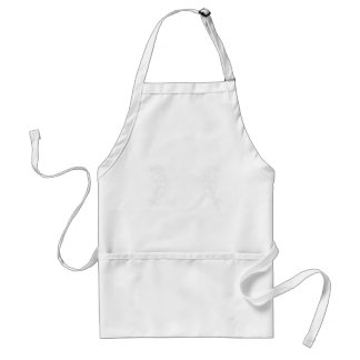 peace standard apron