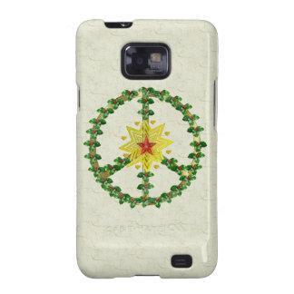 Peace Star Christmas Galaxy SII Case