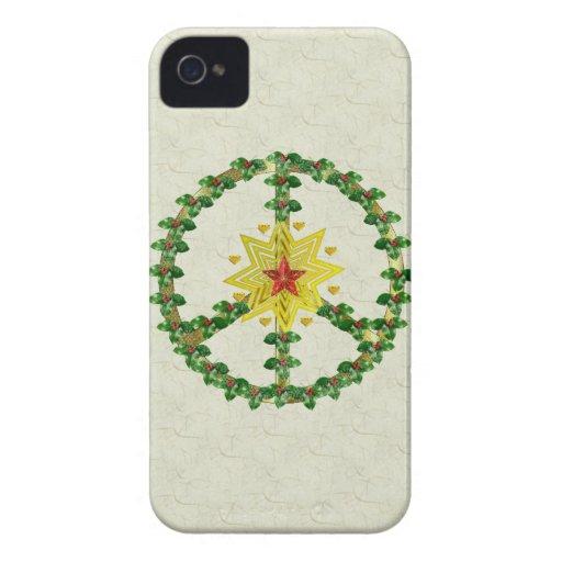 Peace Star Christmas Blackberry Bold Case