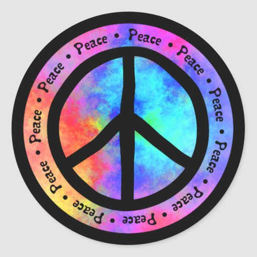 Peace Sticker Sticker