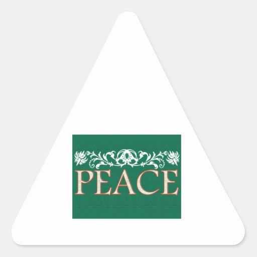 Peace Triangle Sticker