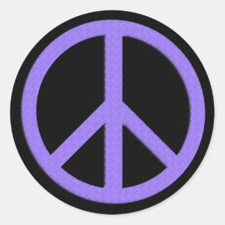 Peace Sticker (Purple)