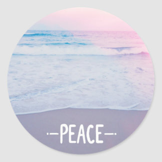 PEACE sticker to brighten your day!