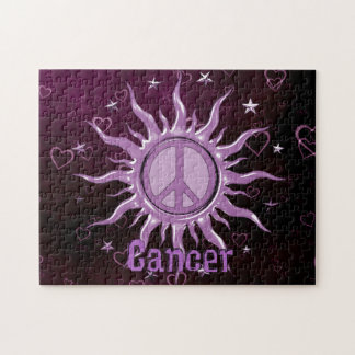 Peace Sun Cancer Jigsaw Puzzle