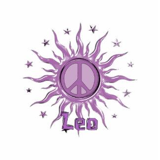 Peace Sun Leo Standing Photo Sculpture