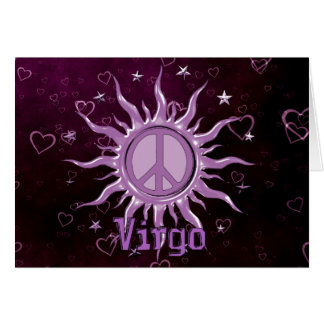 Peace Sun Virgo Card