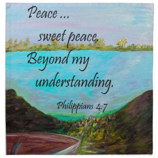 Peace Sweet Peace Napkin