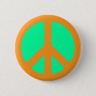 Peace Symbol 2 Inch Round Button