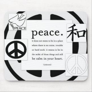 Peace Symbol Mouse Pad