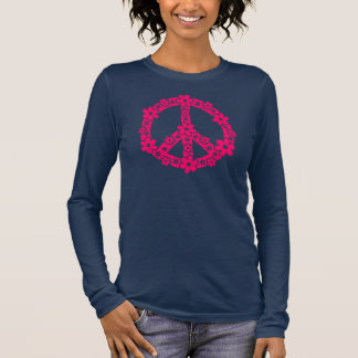 PEACE SYMBOL - peace character, symbol freedom Long Sleeve T-Shirt