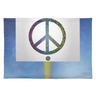 peace symbol placemat