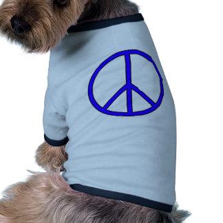 Peace Symbol Sign Love Hippie Anti War Protest Pet Shirt