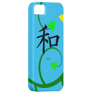 Peace Symbol with hearts iphone 5 Case