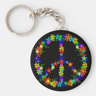 Peace symbole flower power