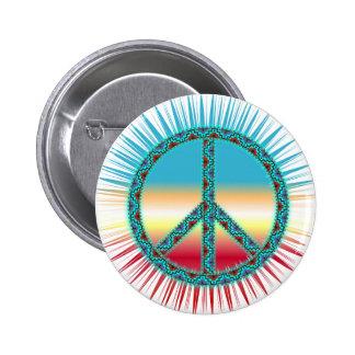Peace Symbols 2 Inch Round Button