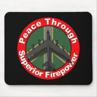 Peace through Superior Firepower Mousepad