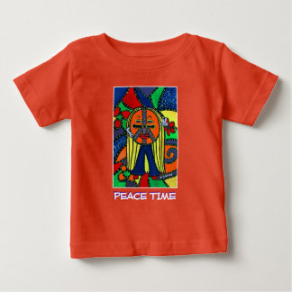 Peace Time - Orange - Time Pieces Baby T-Shirt