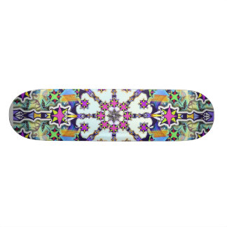 Peace to the Galaxy Skate Deck