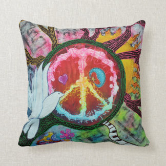 Peace Tree Pillow