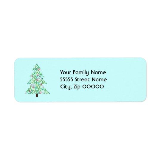 Peace Tree Return Address Label