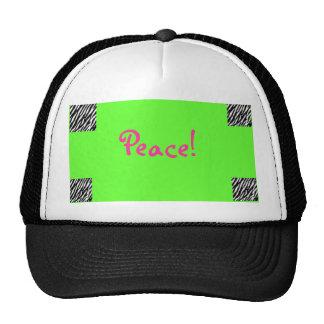Peace! Trucker Hat