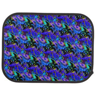 Peace Turtle Car Mat