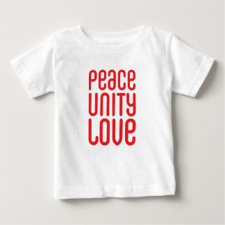 PEACE UNITY LOVE ♥ BABY T-Shirt
