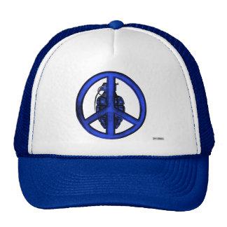Peace & War (Blue) Mesh Hats