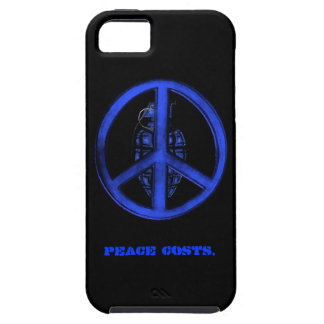 Peace & War (Blue) iPhone 5 Covers