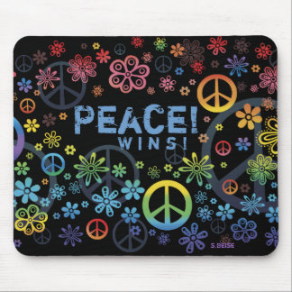 Peace Wins mousepad
