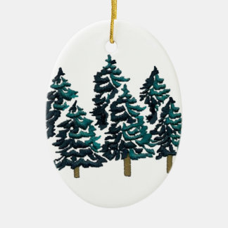 PEACE WITH IN CERAMIC OVAL ORNAMENT