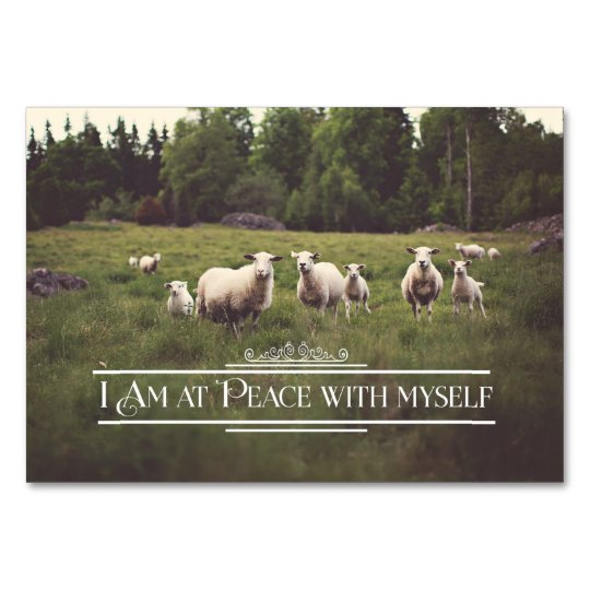 Peace With Myself Card