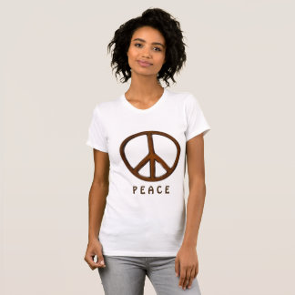 Peace Women's American Apparel Fine Jersey T-Shirt