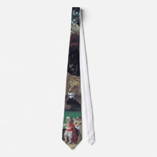 peaceable kingdom by hicks tie