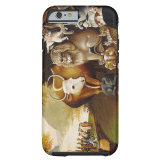 Peaceable Kingdom, c.1834 (oil on canvas) Tough iPhone 6 Case