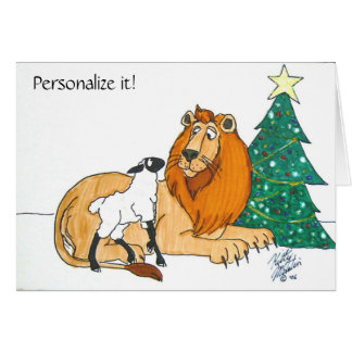 Peaceable Kingdom Card