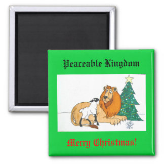 Peaceable Kingdom Magnet