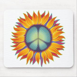 peaceflower mouse pad