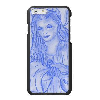 Peaceful Angel in Blue Incipio Watson™ iPhone 6 Wallet Case