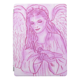 Peaceful Angel in Pink iPad Pro Cover