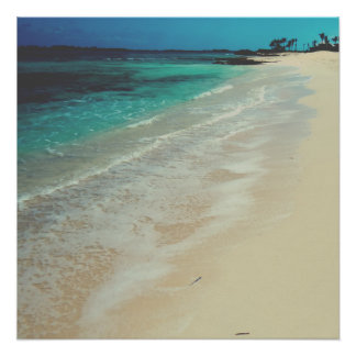 Peaceful Beach Perfect Poster