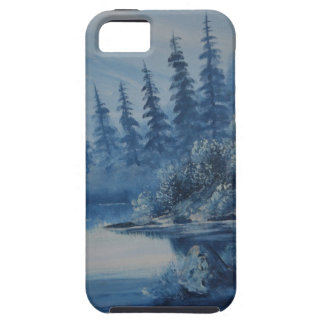 Peaceful Blue Mountain iPhone 5 Cover